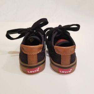 Levi's Shoes - Boys Baby LEVIS shoes size 5 black/brown